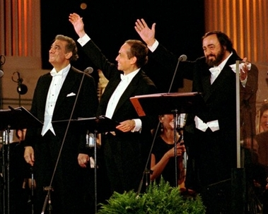DOMINGO CARRERAS PAVAROTTI